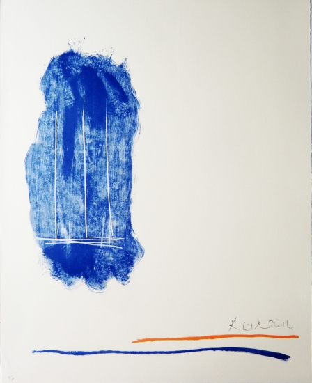 Robert Motherwell Grafik, Lines for St. Gallen, 1971